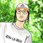 鎮座と歌ってるZEN-LA-ROCK(ゼンラロック)って誰?年齢や本名など。